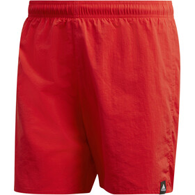 adidas Solid SL uimahousut Miehet, active red